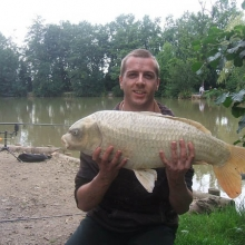 Tom Cockerill - 18.5lb Ghost Carp from Willows Lake